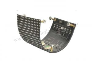 China Untra Thin Flexible Led Screen Module 8mm Pixel Pitch DC 5V 50000 Hours Lifetime on sale