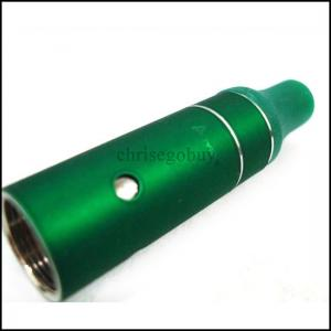 China Green Lightweight E-Cig Vaporizer Mini Atmos Junior With Dry Herb Wax Vapor on sale