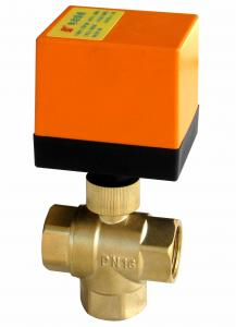 China IP55 Motorized Water Valve Ball Structure / Motorised Ball Valve CE Listed on sale