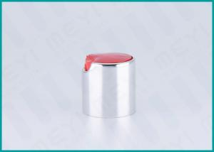 China 24/410 Metalized Disc Top Cap / Bottle Top LidsFor Hair Styling Products on sale