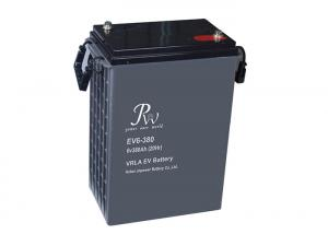 China 380Ah Longest Lasting Deep Cycle Battery 6v for Golf Carts and Electric Vehicles on sale