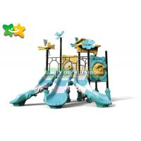 China Jungle Style Outdoor Swing Slide Popular Environmental Protection Long Service Life on sale
