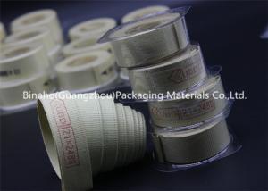 China High Temperature Tolerance Kevlar Fabric Tape , Aramid / Flax Garniture Belt Tape on sale
