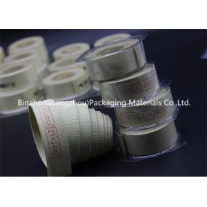 China High Temperature Tolerance Kevlar Fabric Tape , Aramid / Flax Garniture Belt Tape on sale