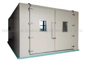 Quality Walk In Environmental Test Chamber Easy Installation Entire Data Recorder for sale
