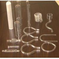 irregular shape quartz tube
