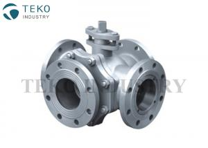 China Straight Type Four Way JIS Valve Low Flow Pressure Drop Silent Operation For WOG on sale