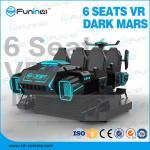 360 Degree Horizontal Rotating 9D Virtual Reality Cinema  / 9D VR Egg Chair