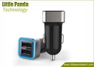 China Best Price Mini Car Charger USB with 2 USB Universal USB Car Charger for iPad/iPhone/iPod/Galaxy on sale