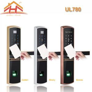 China High Efficiency Smart Card Door Lock with Fingerprint Recognition on sale