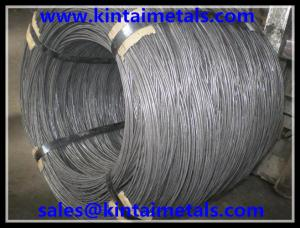 China Q195 hard cold drawn wire & bright black wire & black drawn wire for making nails on sale