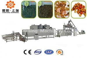 China Fully Automatic Fish Feed Production Equipment , Floating Fish Feed Pellet Making Machine on sale