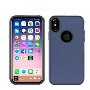 China Anti-Skid Shockproof Armor TPU PC 2 in 1 Combo Mobile Phone Case Cover For iPhone X 8 7 6 Plus on sale
