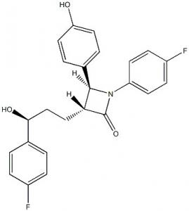 China Ezetimibe Active Pharmaceutical Ingredients CAS 163222 33 1 GMP DMF on sale