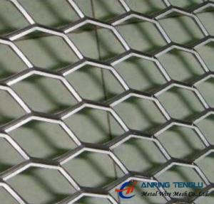 China Hexagonal Hole Expanded Metal With Stainless Steel, Aluminum Plates on sale