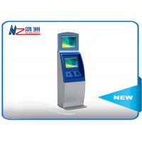 Multifunction interactive information kiosk lobby dual Touch screen kiosk
