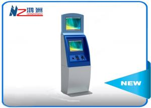 China Multifunction interactive information kiosk lobby dual Touch screen kiosk on sale