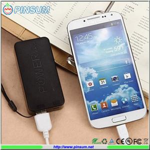 China 2016 New products Power bank 5600mah for mobile phone on sale