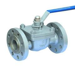 China Fireproof Top Entry Ball Valve Cast Steel API 598 / API 6D Lever Operator on sale