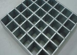 China Mild Steel Heavy Duty Steel Grating 75mm x 6mm Metal Drain Grates Steel Bar Grating on sale