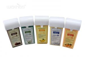 China Honey / Cream Flavor Soft Hair Removal Wax , Bikini Hair Removal Wax 15 Flavors on sale