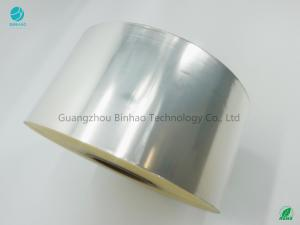 China Cigarette BOPP Film Roll 25Micron Thickness Biaxially Oriented Polypropylene on sale
