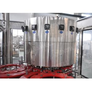 China PLC  Water Treatment Line Orange Juice Filling Machine Producton Line on sale