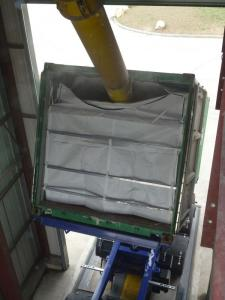 China 20ft Flexible food grade pp dry bulk container Liner bag for rice on sale