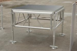 China Movable Aluminum Portable Stage Platform With Waterproof Non - Slip Plywood on sale