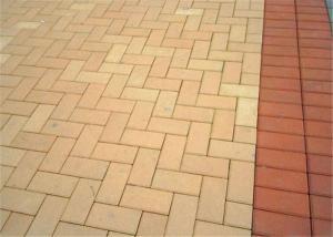 China Personalized Outdoor Brick Pavers , Interlocking Brick Pavers Flooring on sale