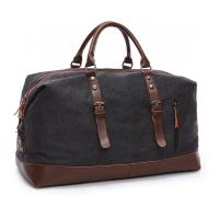 16 Ozs  Duffle Canvas Large Travel Bags , 1.25 KG Heavy Duty Travel Luggage Bags
