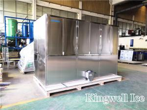 China Kingwell 5tons Cube ice Making Machine Industrial Ice Makers with Siemens Plc control on sale