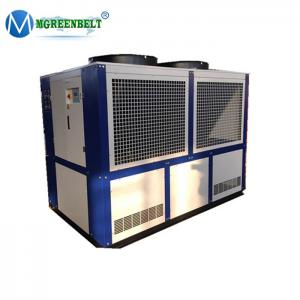 China 40 HP -10 degree C Air Cooled Glycol Water Chiller Machine For Soap Factory Soap Die Process Line on sale
