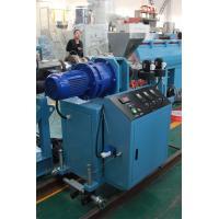 China Lab High Precision Plastic Extrusion Machine SJ30 Single Screw Extruder Type on sale