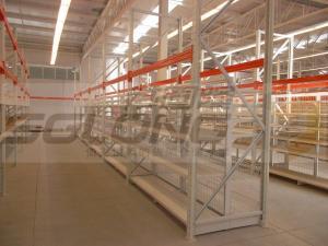 China Industrial Storage Racks Heavy Duty Metal Shelving U Shape Upright Protectors on sale