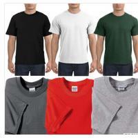 Wholesale mens round neck custom screen printed tshirts