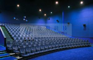 China Removable Immersive 3D theater seating system for 6 / 12 / 50 Persons on sale