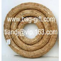 China Straw wreath on sale