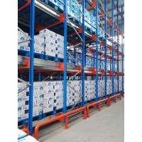 Semi Automatic Pallet Shuttle System , Compact Storage System W1000 X D1200mm Size