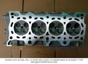 China HONDA CIVIC EX DEL SOL 1.6 VTEC SOHC CYLINDER HEAD 96-99 EARLY TYPE on sale