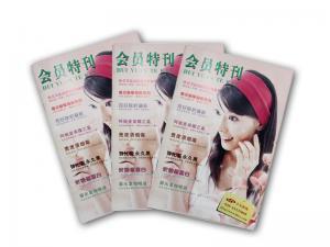 China Custom Printing Brochures , Colorful Catalog Printing , Magazine Printing on sale