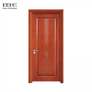 China Commercial Dampproof Hollow Core Timber Door With High Stable Performance on sale