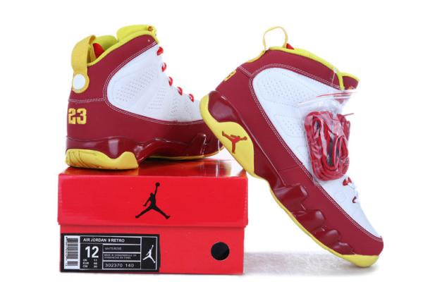 fa93fc64df84 ... wholesale air jordan ix 9 bentley ellis crawfish red and white yellow  043 images 84a0f f92d9 where to buy ...