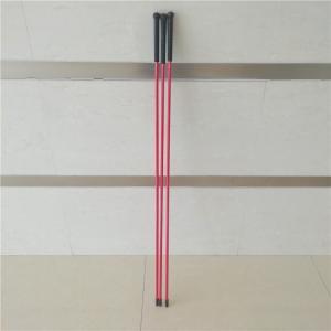 China fiberglass walking stick cattle sticks fiberglass pole on sale
