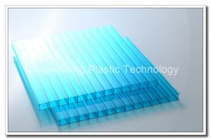 China Bayer Bus Shelter Lexan Polycarbonate Hollow Sheet High Transmission on sale