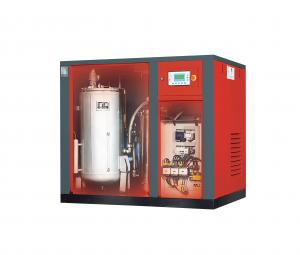 China Variable Frequency Changer Energy-Saving Oil Free Screw Air Compressor For Food Processing on sale