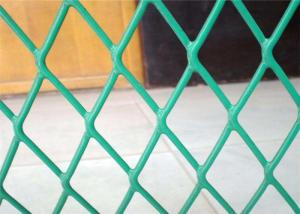 China Plastic Coated Expanded Metal Mesh Fence For Highway Protection System on sale