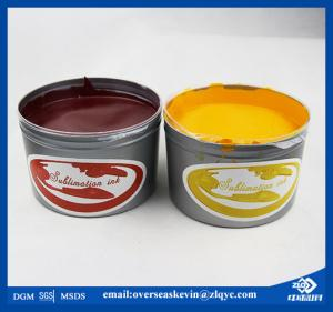 China High quality T shirt offset sublimation printing inks on sale