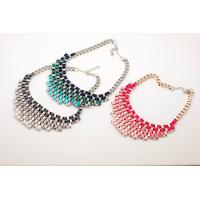 Colored Fashion Jewelry Handcrafted Necklaces, Handmade Neck Cahins (JNL0003)