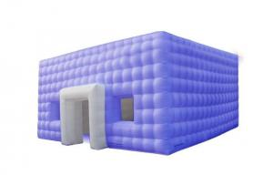 China cube shape inflatable air structure building for temportary exhibition on sale